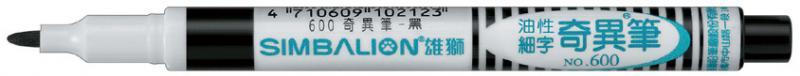 雄獅 600 油性奇異筆(12色組)