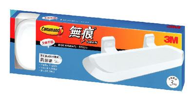 3M  17628B 浴室防水無痕收納系列 置物板