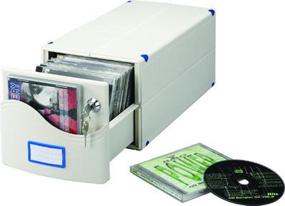 328-A 組合式CD整理盒 (30片裝)