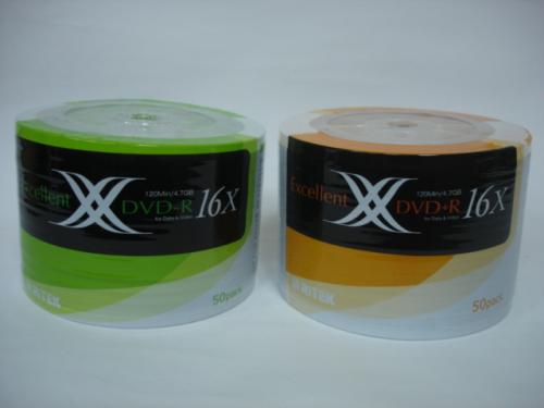 RITEK DVD-R 16X 50 入(裸裝)