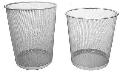Q60103  圓形網狀垃圾桶/小