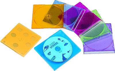 9202-5C  CD保存盒 (2片裝5入)
