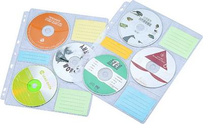 CD-5005  CD內頁袋 (6片裝11孔10入/包)