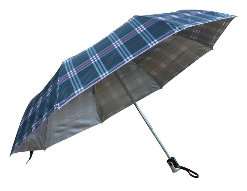 U02-2309 三折自動開收晴雨傘