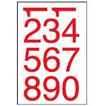 W2060 彩色數字標籤
