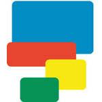 W2073 彩色標籤