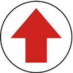 W2201 箭頭(白底紅箭頭)標籤